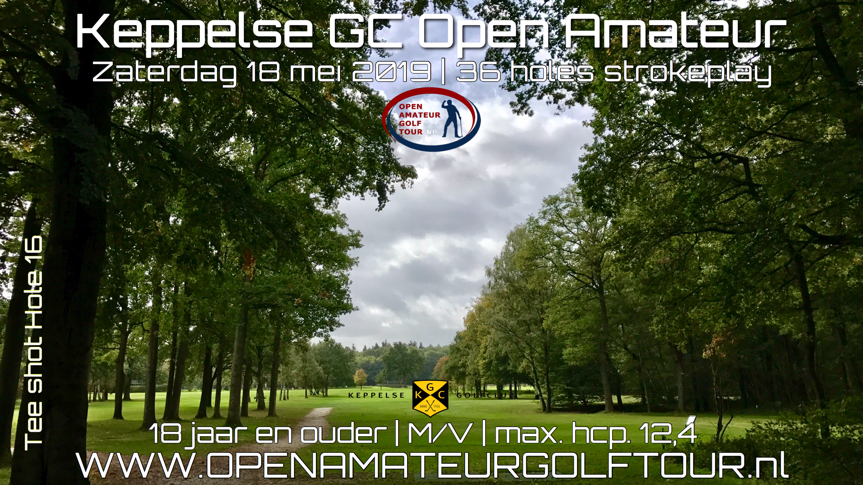 Keppelse Open Amateur Golf Tour poster 2019