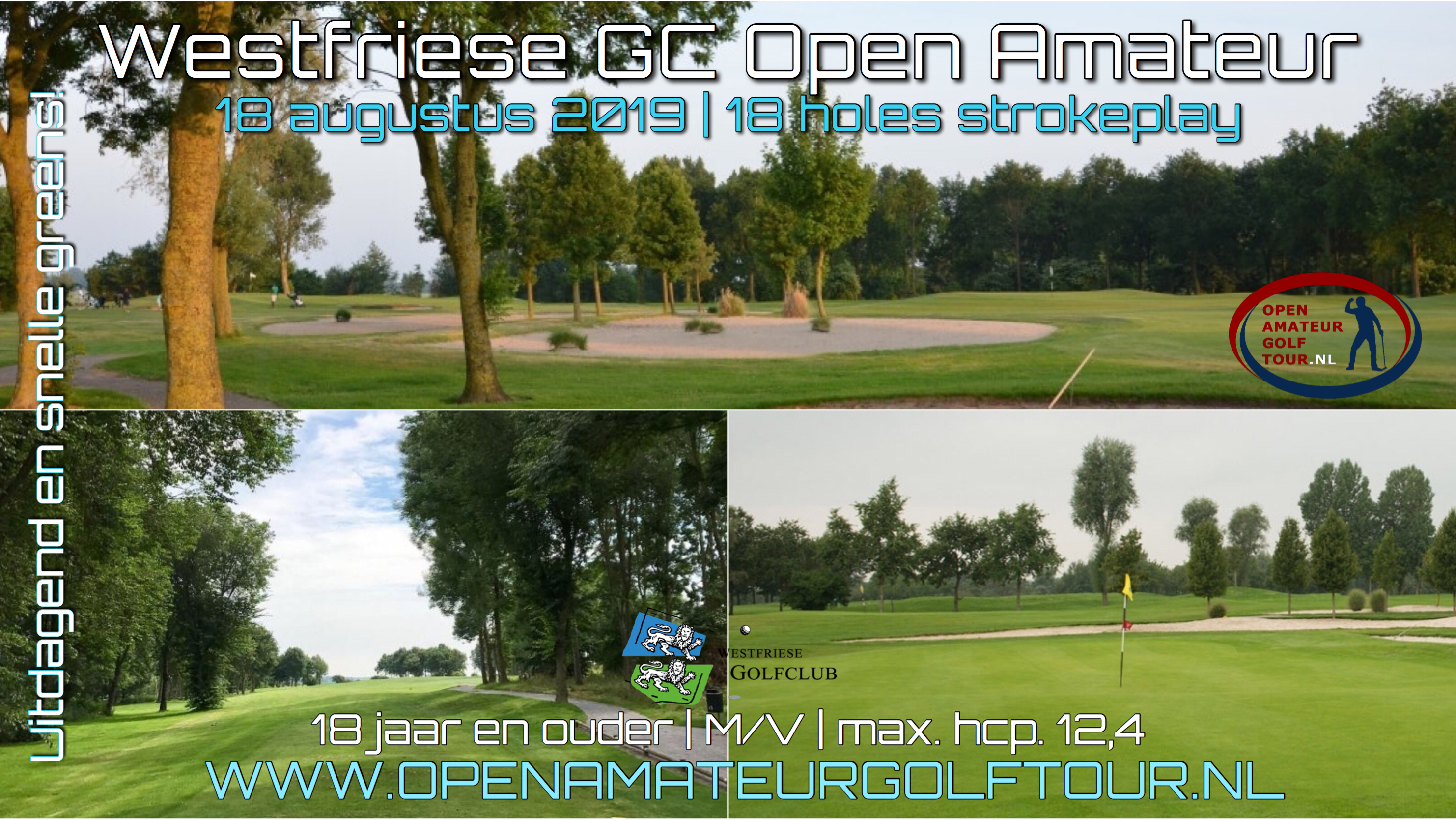 Westfriese GC Open Amateur poster 2019